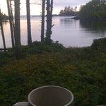  View in morning with coffee from porch at Terrace Beach Resort . Awesome  !!